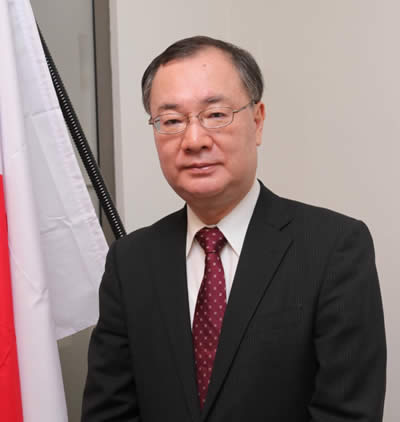 His Excellency Yoshiharu Kato, Ambassador of Japan in Mauritius.