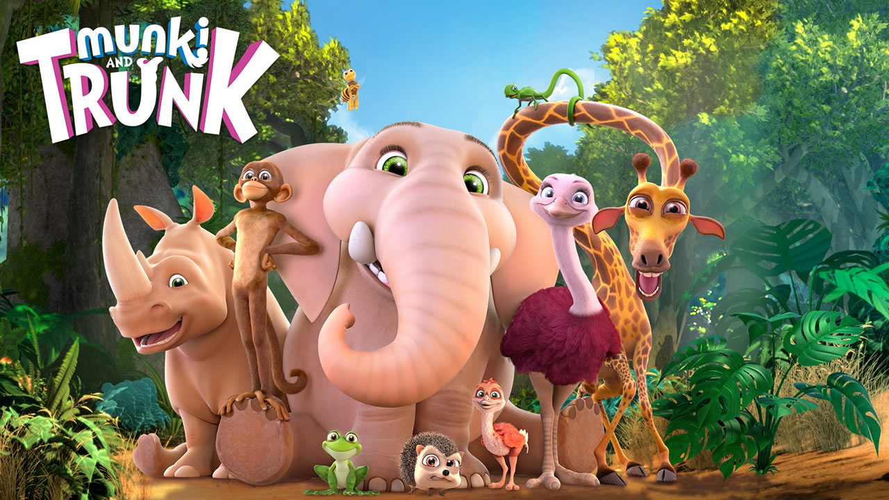 Munki et Trunk dans Jungle Beat : The Movie.