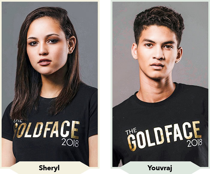 Gold Face 2018