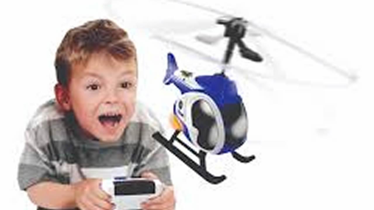 Les petits se laisseront séduire par les drones Silverlit «Le premier hélicoptère».