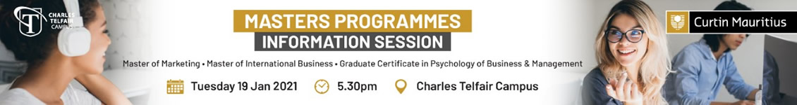 Masters programmes information session