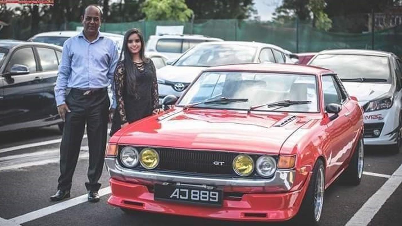 Ally rêve de voir sa fille Dilshad sur le circuit du rallye automobile.