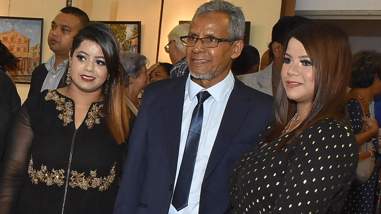 Rasheed, Alizah et Aadilah Khaidoo