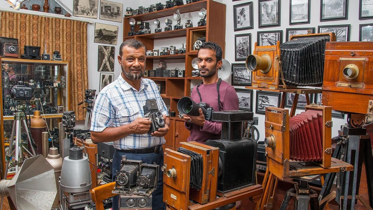 La passion de la photographie s'est transmise de père en fils chez les Sobha.