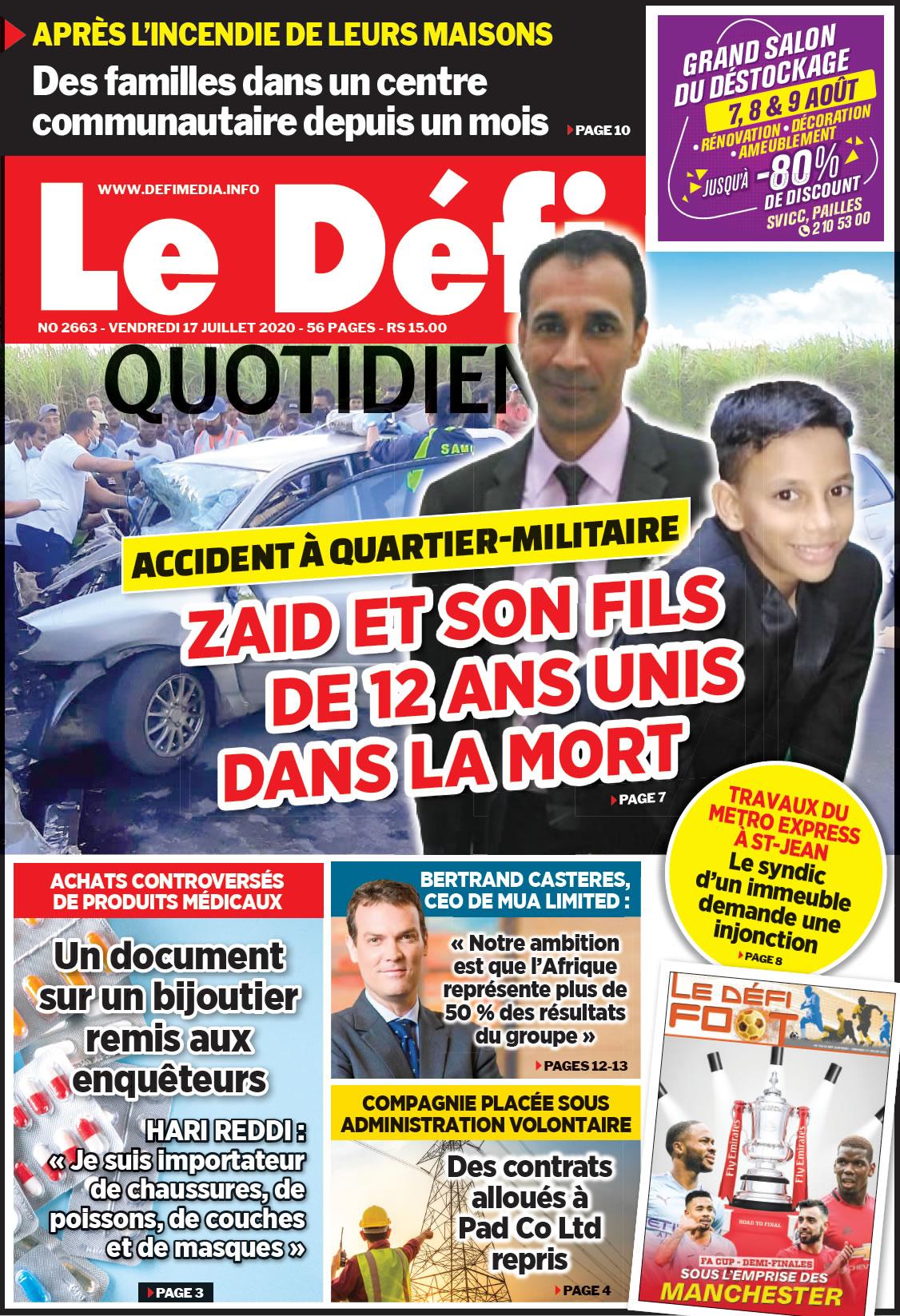 Quotidien 2663