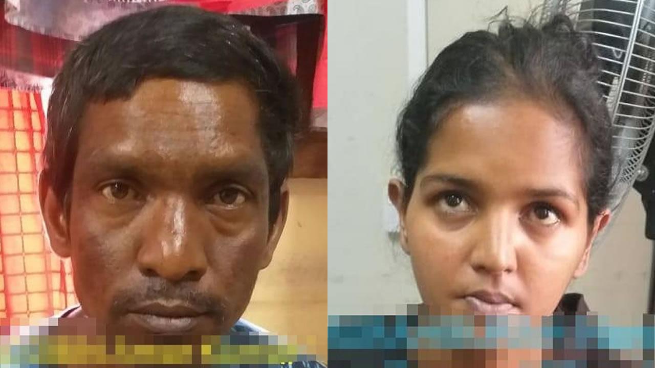 Amar Kumar Seegobin etNandini Tharahburah ont avoué être les auteurs du cambriolage.