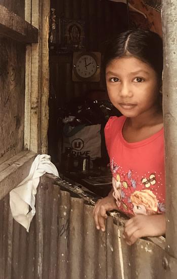 Les enfants de Parvatee gardent espoir pour un avenir meilleur. (Photo publiée avec l'accord parental)