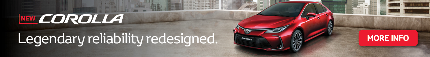 New Corolla : Legendary reliability redesigned.