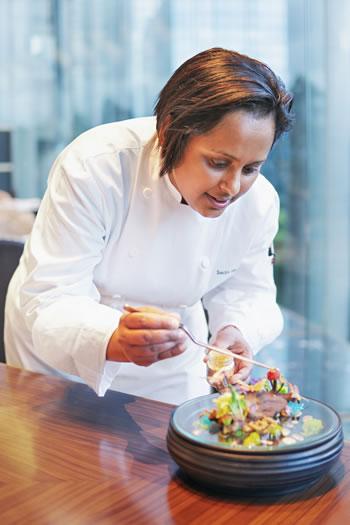 Smita Grosse est la première Executive Pastry Chef de l'hôtel Grand Hyatt à Hong Kong.