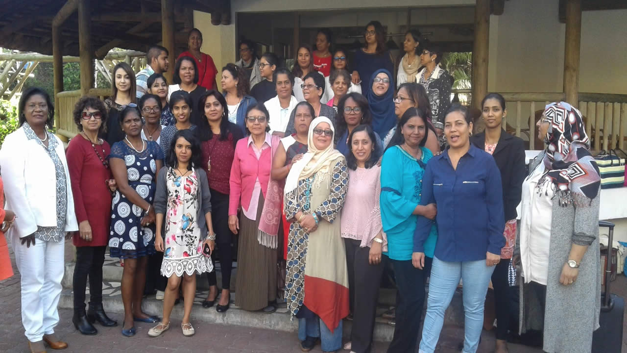 All the trainers of women empowerment programme.