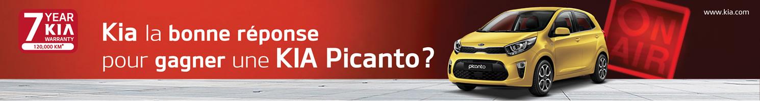 Kia la bonne réponse pour gagner une KIA Picanto?