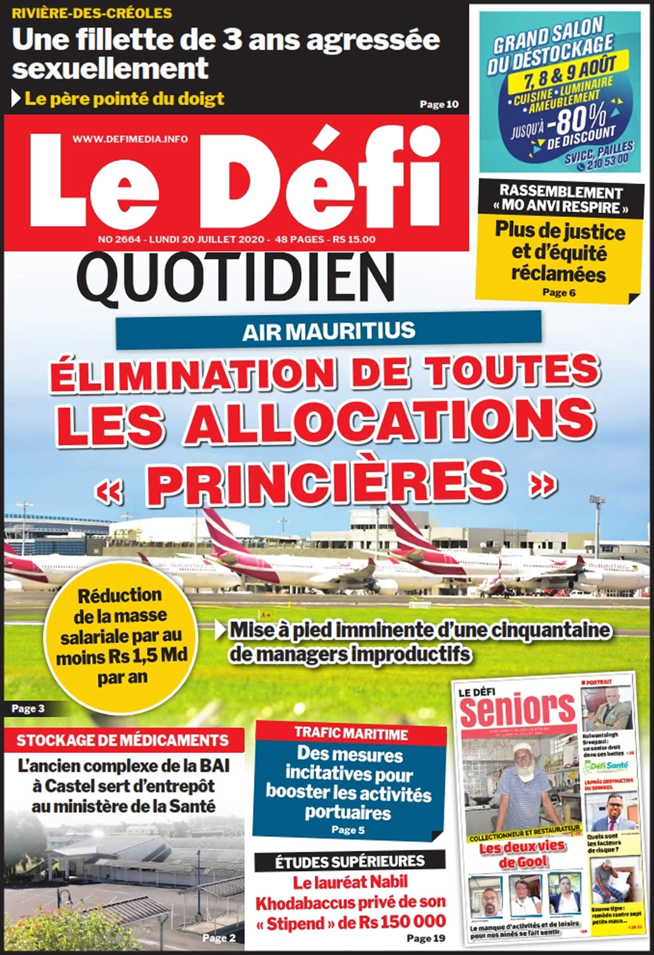 Quotidien 2664