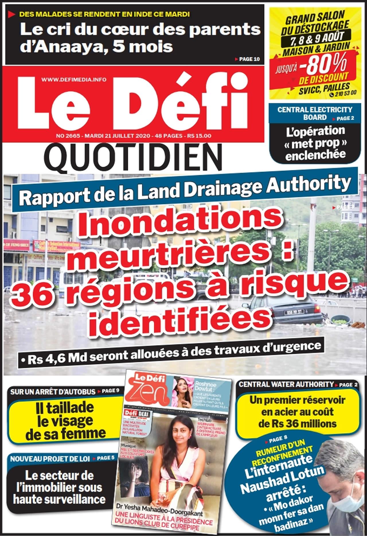 Quotidien 2665