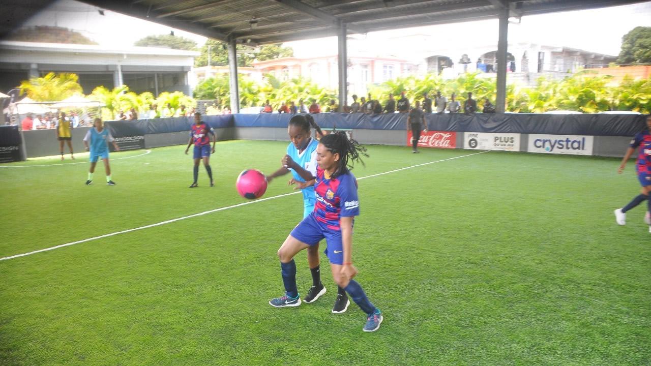 Nos footballeuses étaient également en action. Le niveau des joueuses a été plutot impressionant !