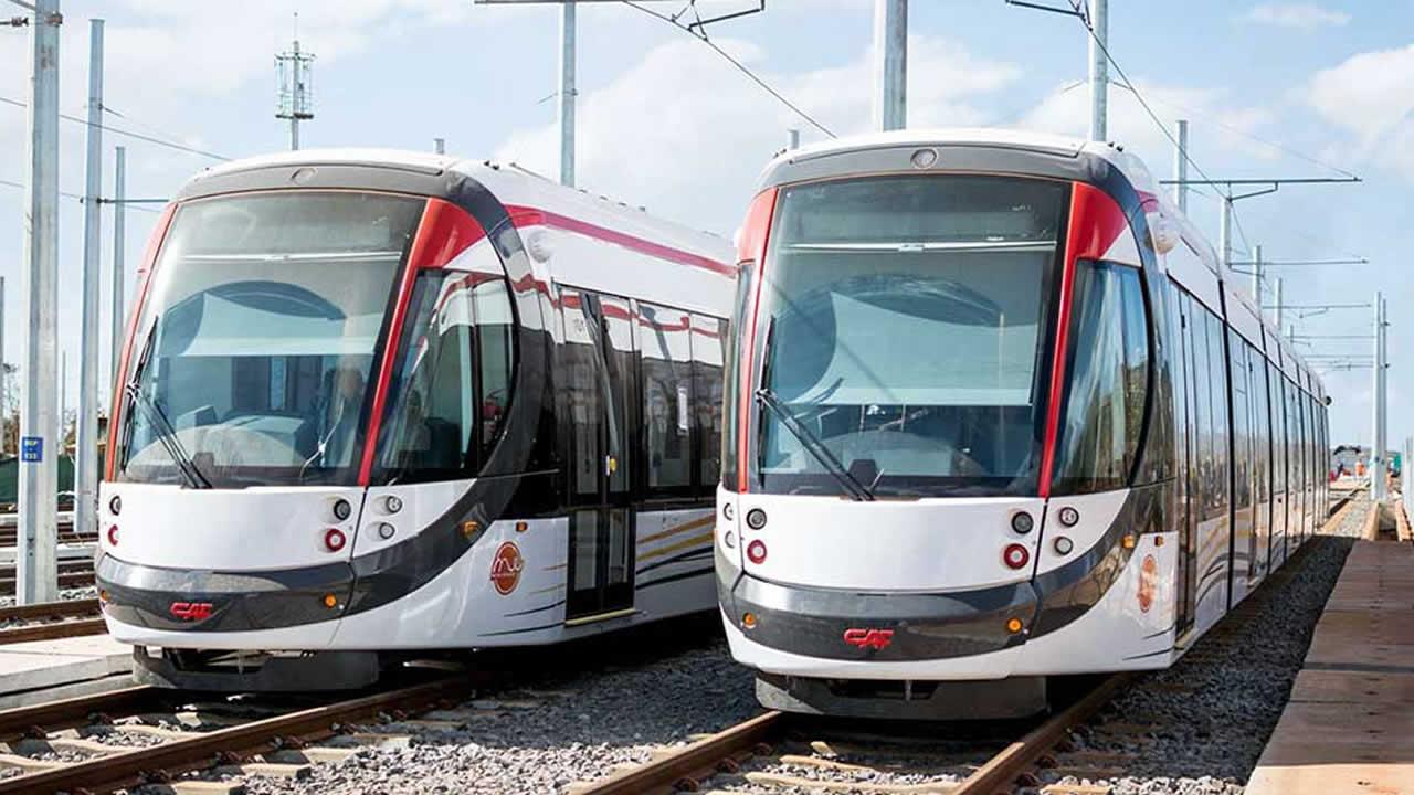 Comme les autobus, le Metro Express opère aussi normalement en cette période de festivités.