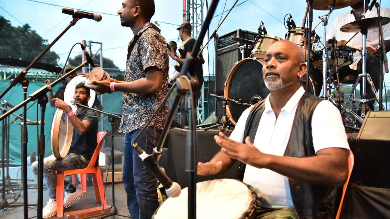 musiciens musique concert solidarité Rivière Noire