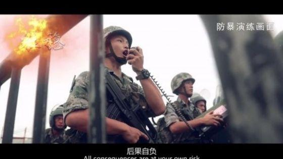 4 Minutes aux 4 Coins du Monde : l'armée chinoise tient à faire savoir qu'elle est prête en cas d'intervention à Hong Kong