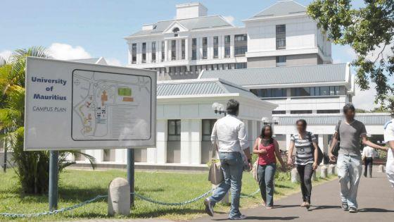 UoM : le taux d'admission en baisse