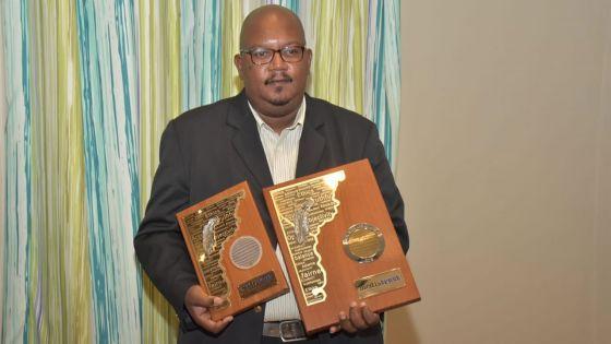Gagnant du Prix Nicolas Lambert - Jean-Hugues Olivier : «Ce titre est pour tous les journalistes sportifs de l'île»