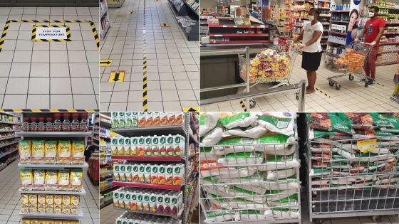 [En images] Couvre-feu sanitaire : incursion dans les coulisses des supermarchés d'Intermart
