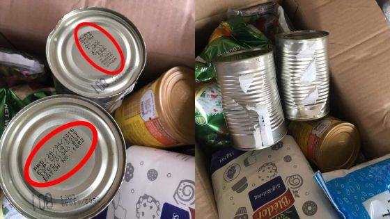 Denrées alimentaires aux familles pauvres : un couple âgé dit avoir reçu des produits périmés