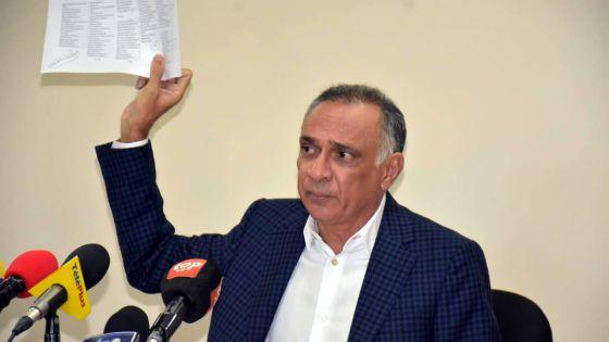 «Mise en liquidation d'Air Mauritius…», prévient Sattar Hajee Abdoula, sans la collaboration des syndicats