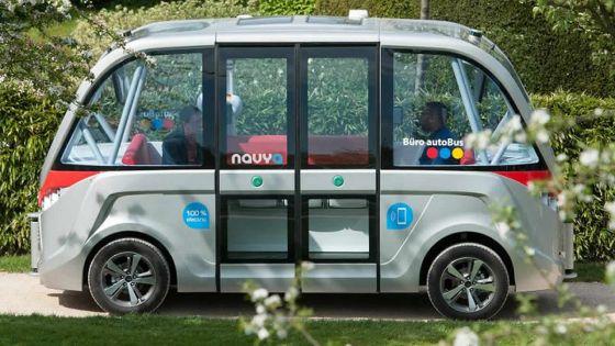 France : Lyon expérimente des minibus sans chauffeur