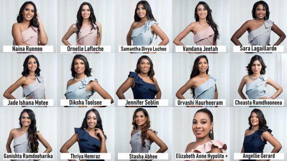 Miss Universe Mauritius 2019 : présentation des quinze finalistes