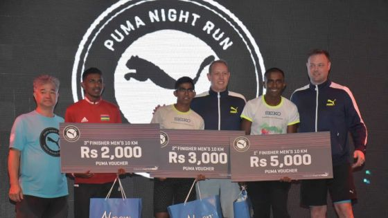 Puma Night Run moka 2019 : Nitish Jhugursing et Milena Chuttoo sortent du lot