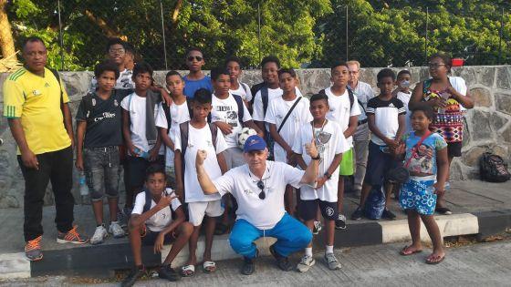Association Parents-École de foot de Champ de Mars : les petits footballeurs de Tranquebar mettent le cap sur La Réunion
