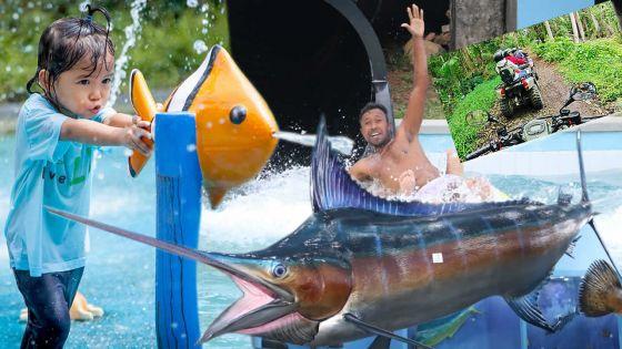 Vacances :ces nouvelles attractions pour se la couler douce