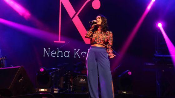 [En images] Concert : Sous le charme de Neha Kakkar