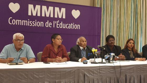 Le MMM souhaite que l'éducation soit humanisée
