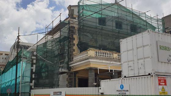 Rénovation du théâtre de Port-Louis : du retard et Rs 1,8 millionde dépenses additionnelles