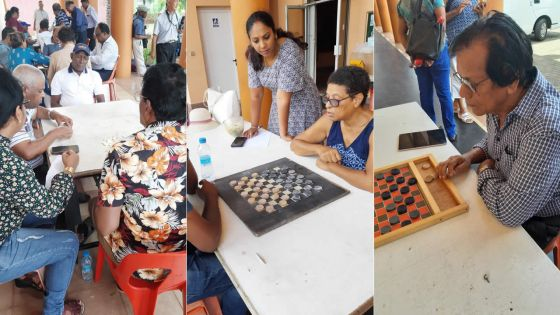 Centre récréatif de Pointe-aux-Sables -dominos, dames et pétanques : les seniors offrent une leçon de fair-play