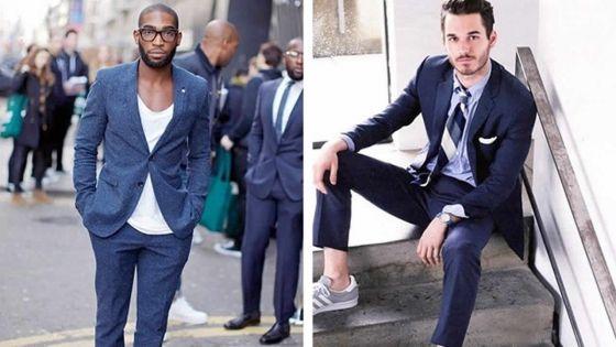 Homme - Casual chic en sneakers: trop stylé!