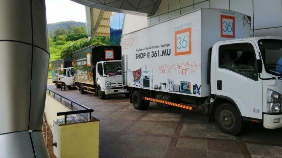 Les magasins 361 participent à distribution de denrées alimentaires aux nécessiteux