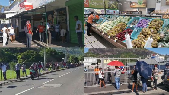 [En images] Réouverture des supermarchés et boutiques ce jeudi