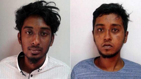 Pointe-aux-Piments : deux cambrioleurs arrêtés