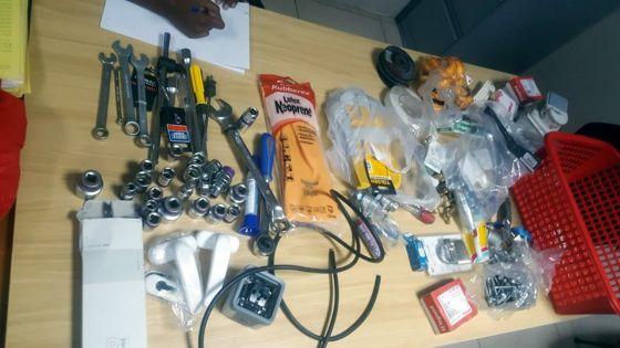 Vol d'équipements et accessoires de plomberie : un employé d'usine avoue son forfait