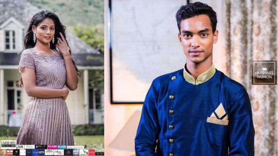 Concours de Rays Club : Neha Dabee et Teddy Bholanauth, Miss & Mister University Mauritius 2019