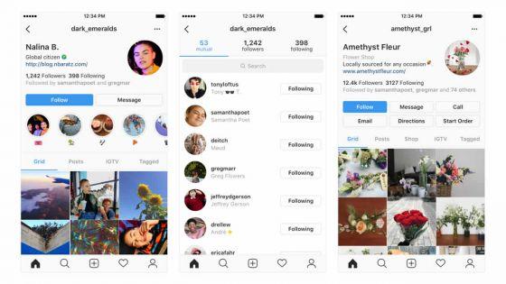 Réseaux sociaux : Instagram prévoit de réorganiser les profils de ses utilisateurs