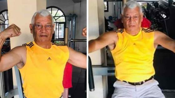 Eugène Pierre : amateur de fitness à 74 ans