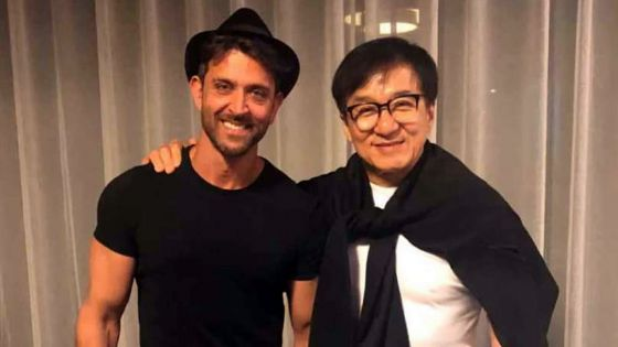 Campagne promotionnelle de Kaabil : Hrithik Roshan rencontre Jackie Chan en Chine