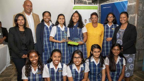JA Mini Company 2019 : le collège de Lorettede Rose-Hill remporte la finale