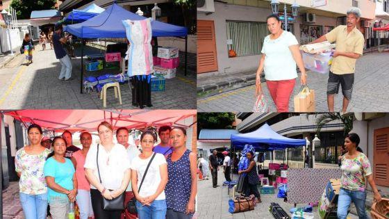 75 entrepreneures délogées de la rue du Vieux Conseil ne savent pas où aller