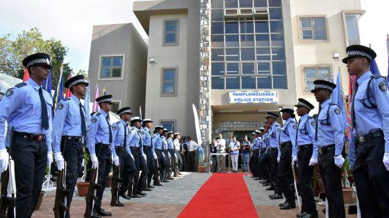 Inauguration du poste de police de Pamplemousses :SAJ défend le projet Safe City et pointe du doigt les policiers indisciplinés