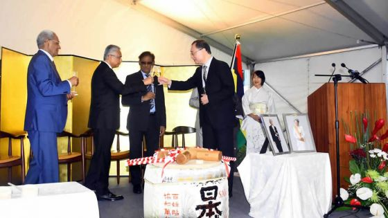 Japan and Mauritius : strategic partnership between Mauritius and Japan in various fields