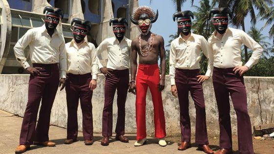 Les maestros de l'afro-funk Vaudou Game en concert