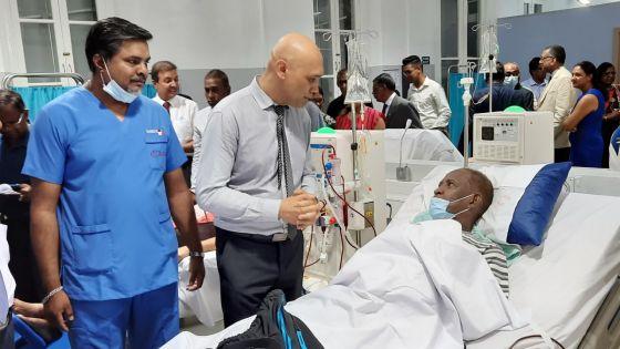 Santé publique :Rs 150 millions par an pourle service de dialyse